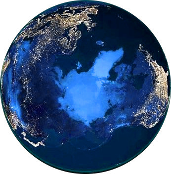earth-at-night-north-pole